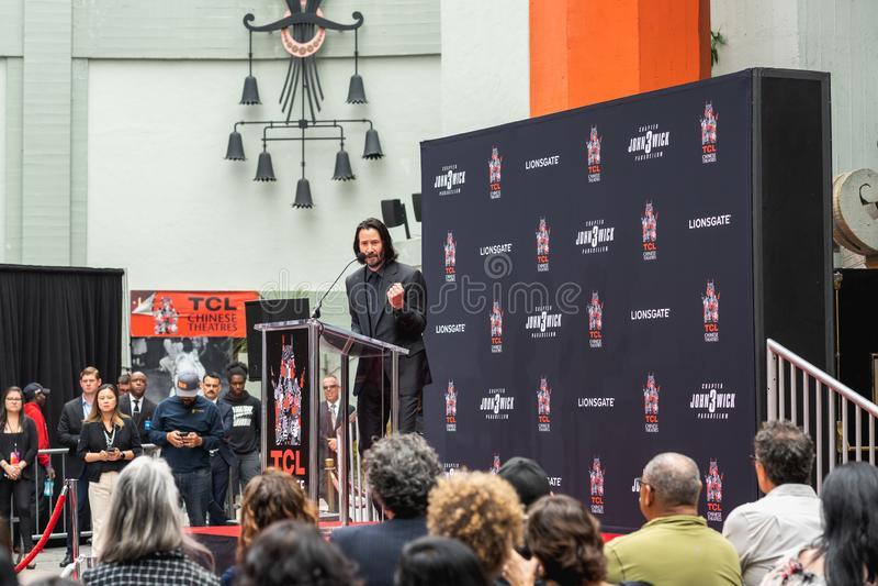 Keanu Reeves r стоковая фотография