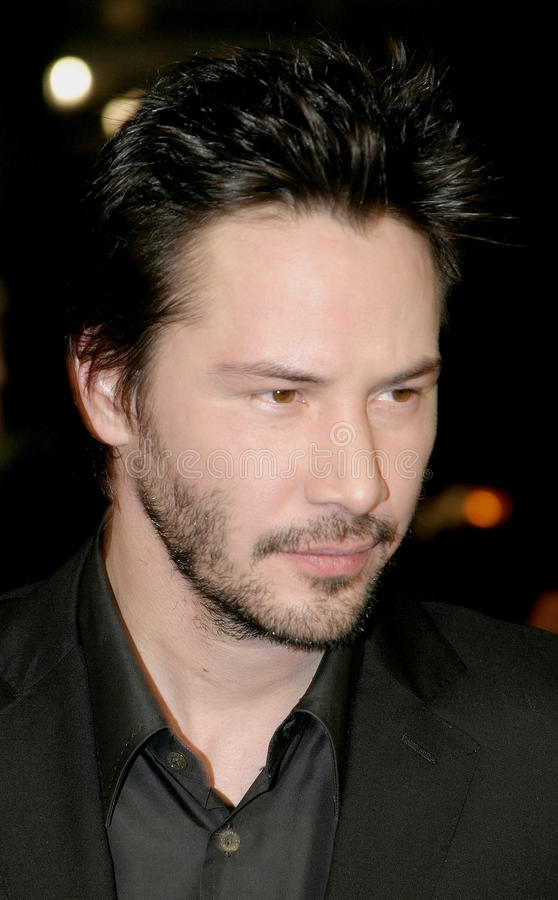Keanu Reeves royalty free stock photography
