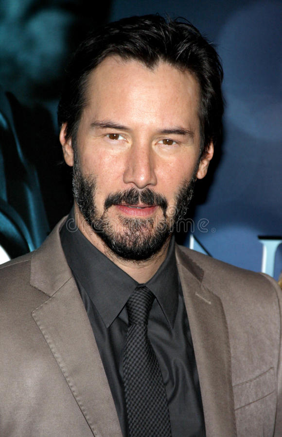 Keanu Reeves. At the Los Angeles premiere of John Wick held at the ArcLight Cinemas in Los Angeles on October 22, 2014 in Los Angeles, California royalty free stock photo