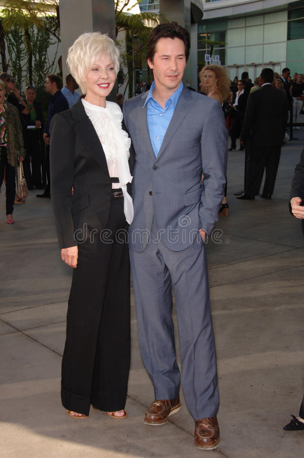 Keanu Reeves,Patricia Taylor stock images