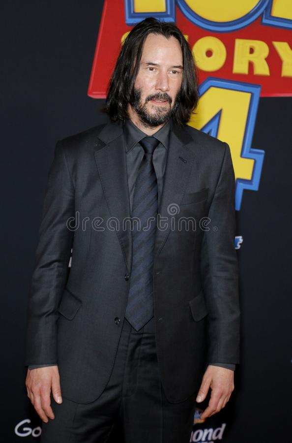 Keanu Reeves royalty free stock photos