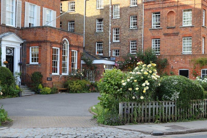 Keate House, Eton College, UK stock images