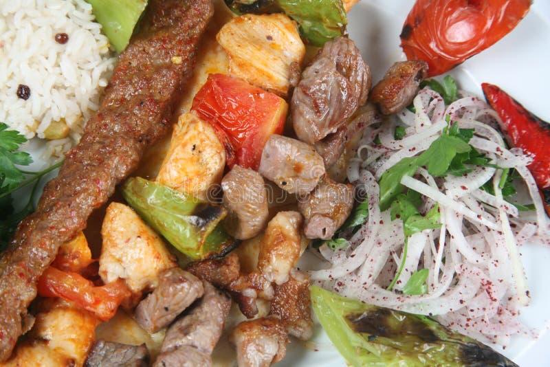 kebab Τούρκος στοκ φωτογραφία