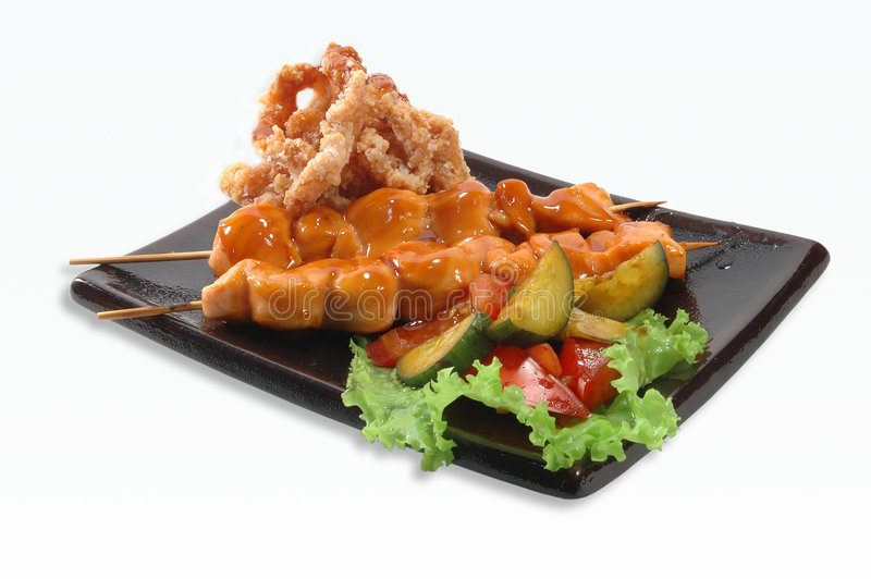 kebab χοιρινό κρέας shish στοκ εικόνες με δικαίωμα ελεύθερης χρήσης