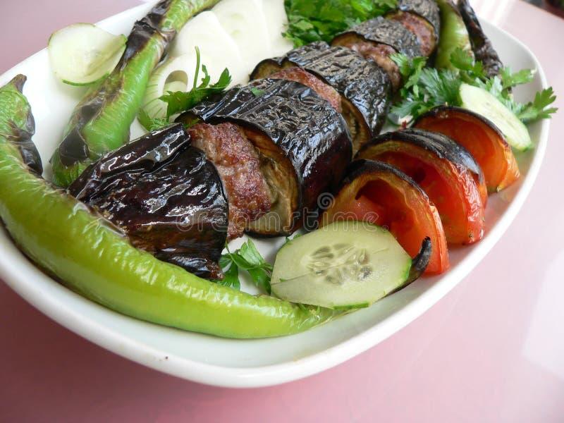 Kebab 08 immagini stock