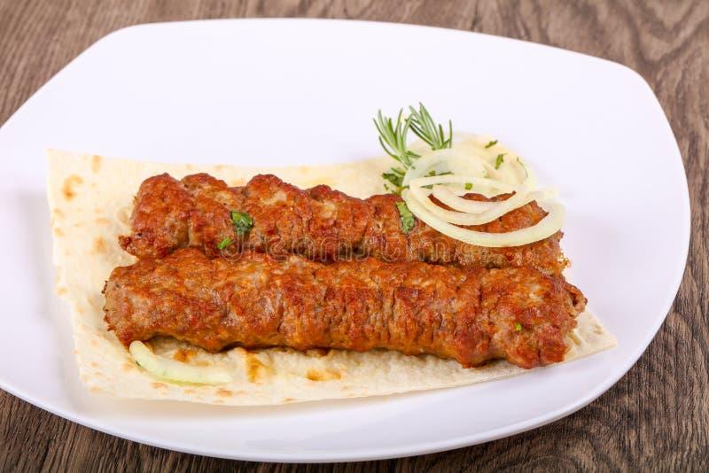 Kebab zdjęcie royalty free