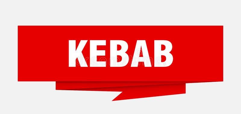Kebab ilustracja wektor