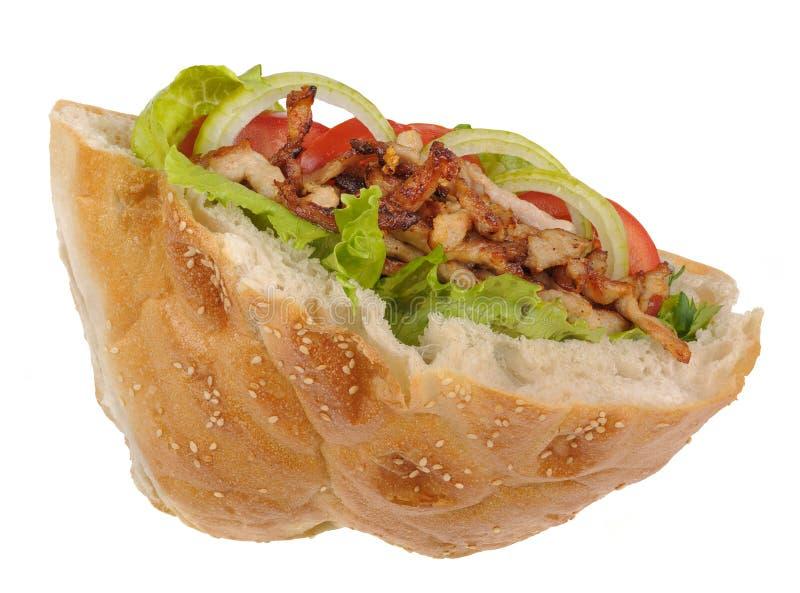 kebab 免版税图库摄影