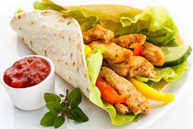 Kebab stockfotos