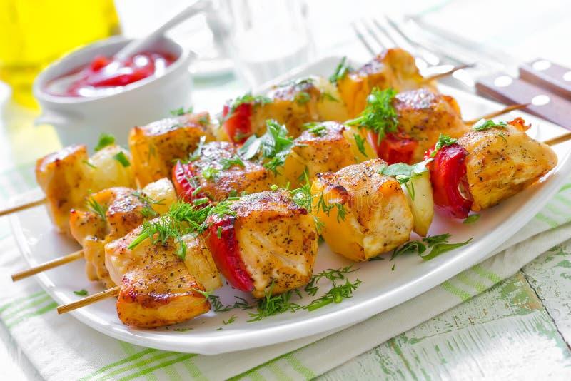 Kebab royaltyfri foto