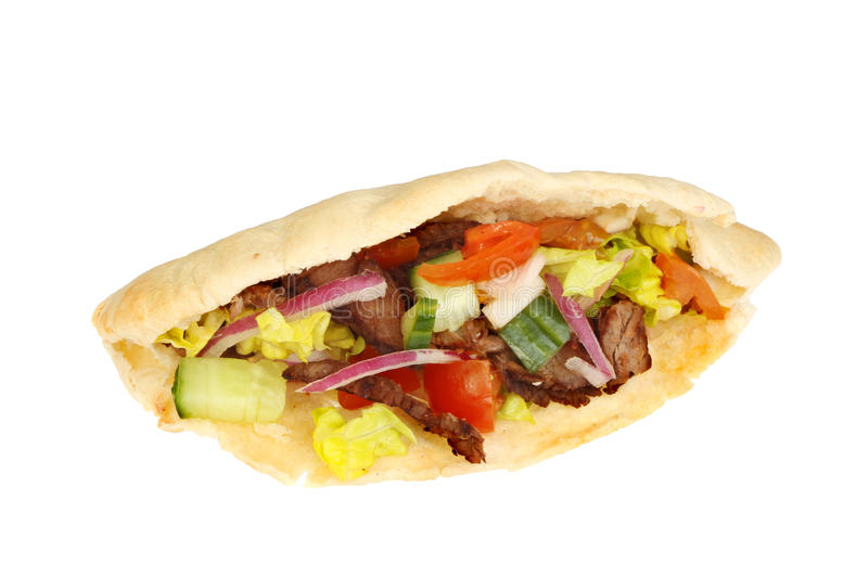 Kebab zdjęcia stock