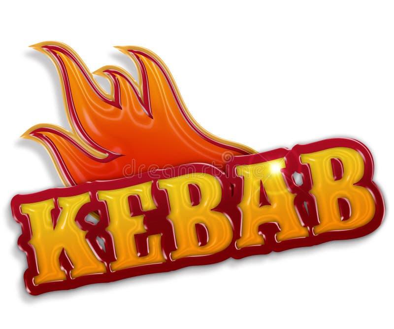 Kebab ilustracji
