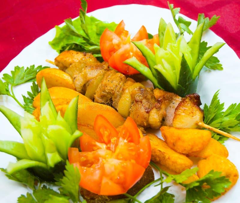 Kebab imagens de stock royalty free