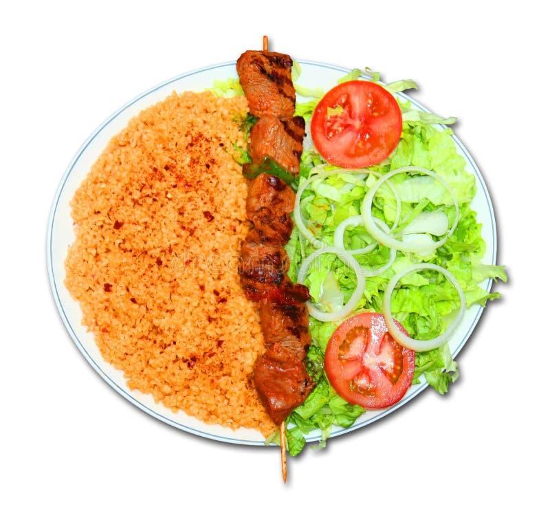 kebab lizenzfreie stockbilder