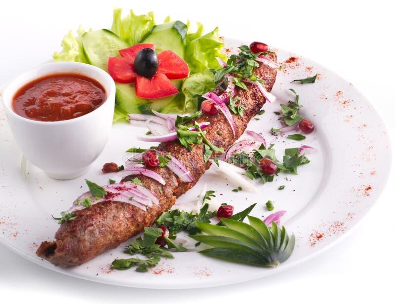 Kebab aislado imagen de archivo libre de regalías