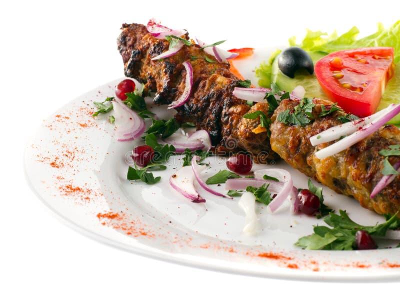 Kebab aislado fotografía de archivo libre de regalías