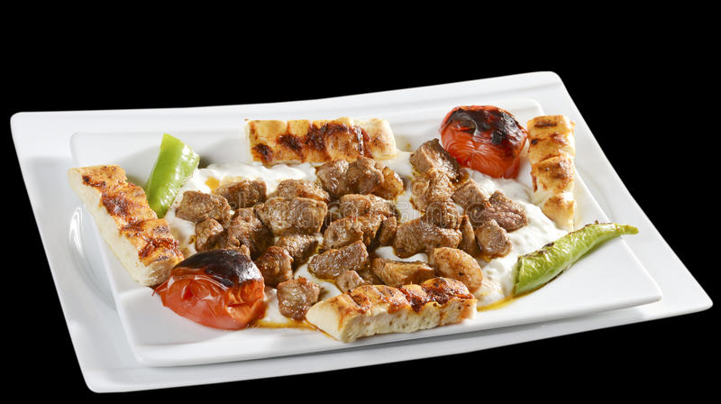Kebab Alinazik стоковые изображения rf