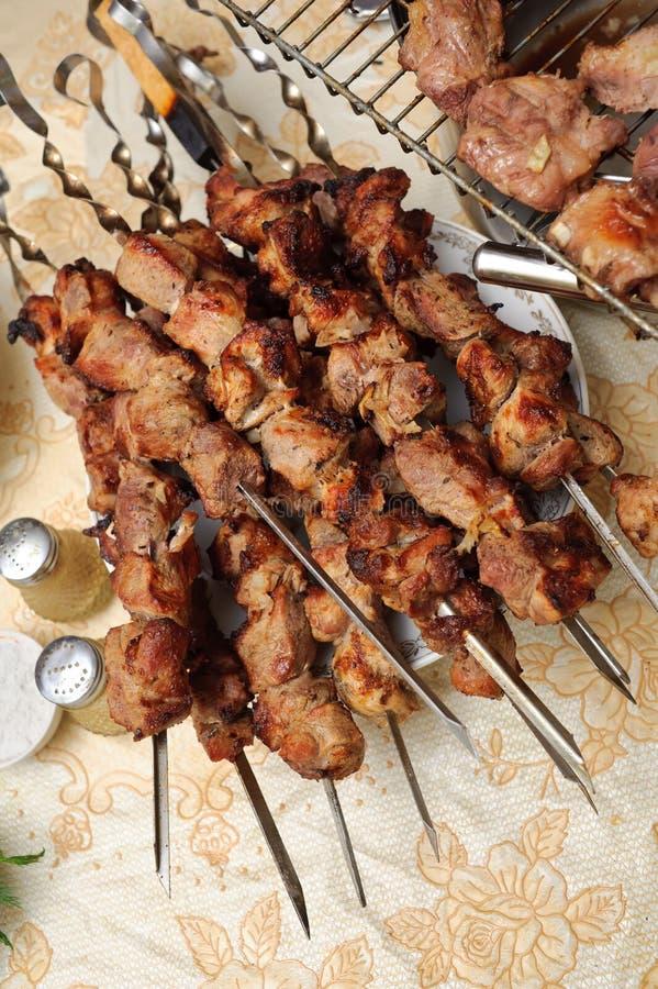 Kebab apetitoso del shish fotografía de archivo libre de regalías