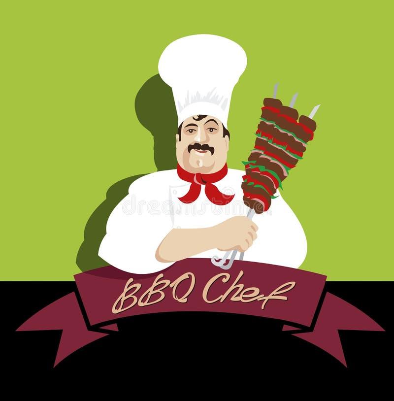 Kebab_Chef royalty ilustracja