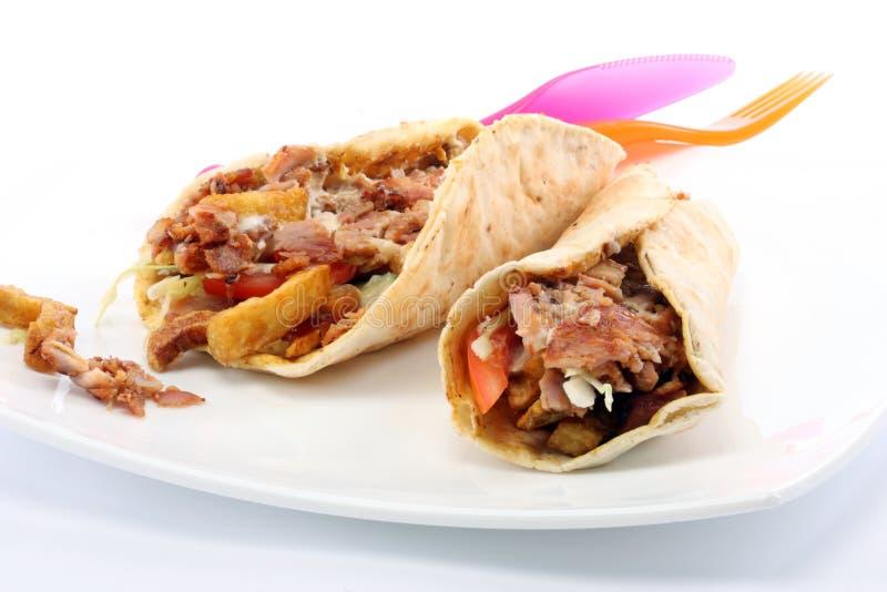 Kebab de Doner imágenes de archivo libres de regalías