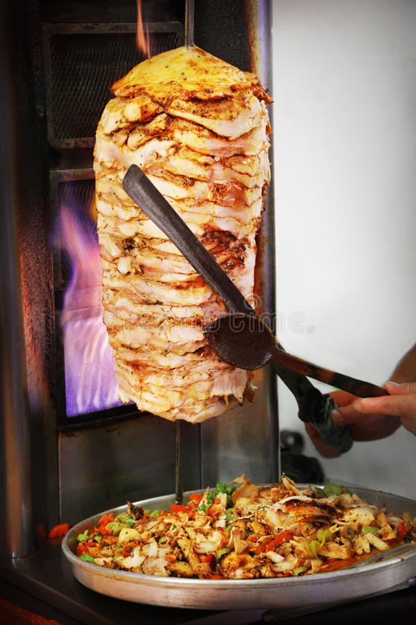 Kebab de Doner photo stock