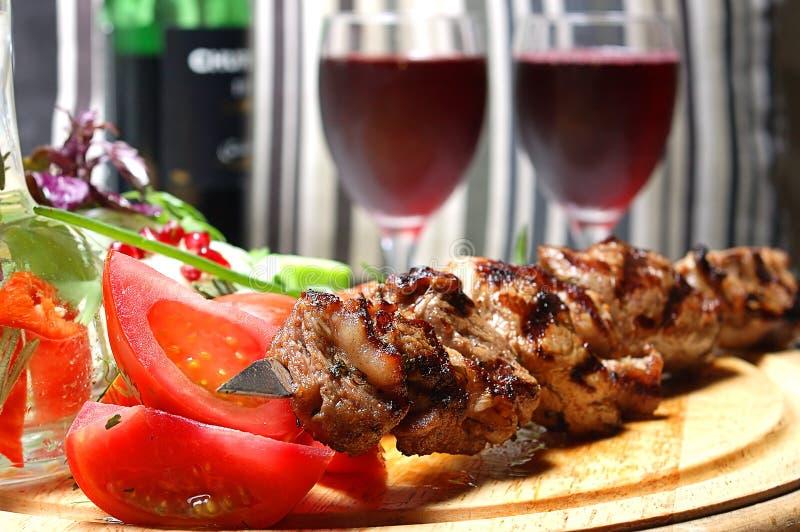 Kebab de Shish fotos de stock