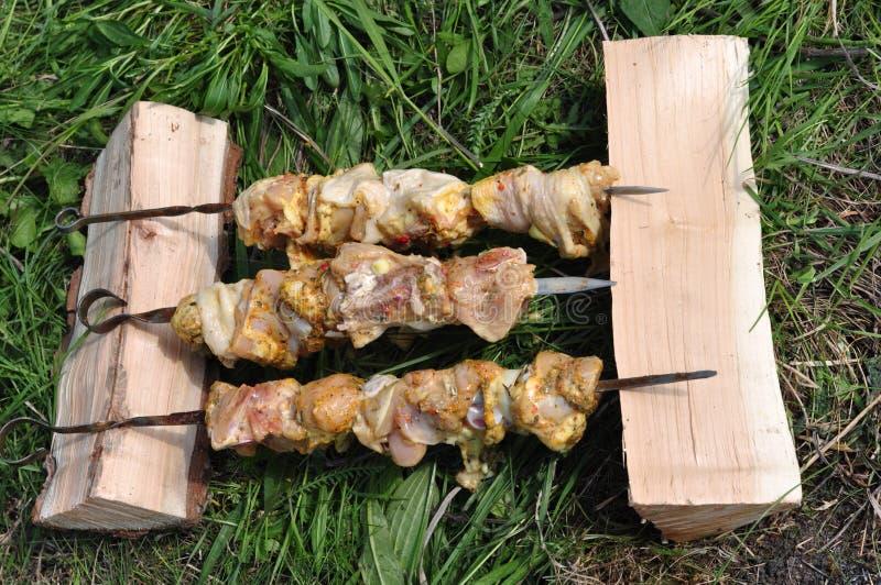 Kebab delicioso foto de archivo libre de regalías