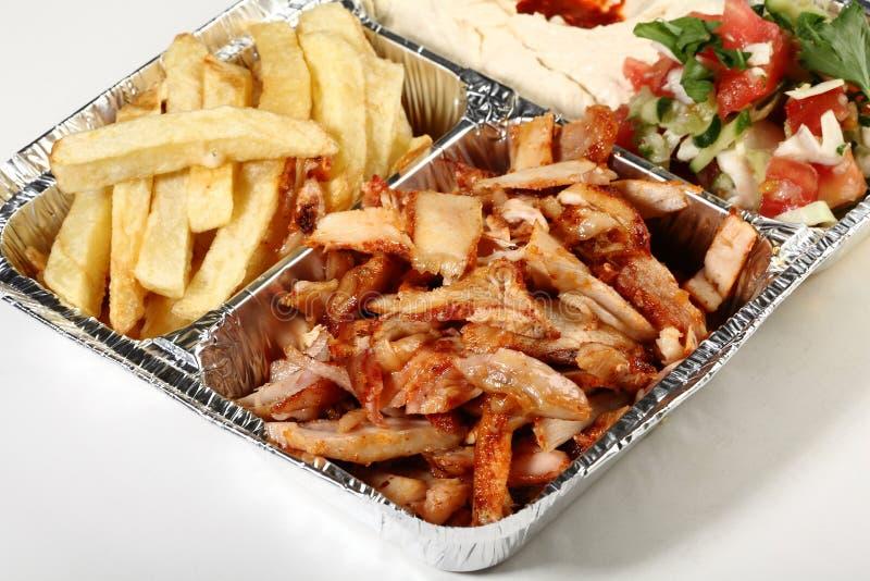 kebab doner стоковое изображение