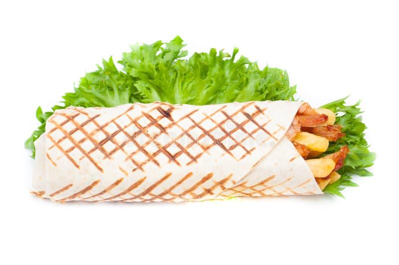Kebab finish look royalty free stock photos