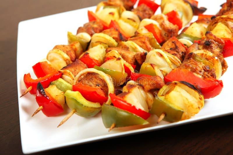 Kebab polaco imagen de archivo libre de regalías