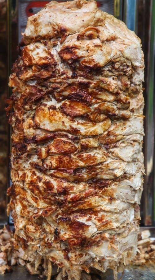 Kebab przy plenerową kawiarnią zdjęcie stock