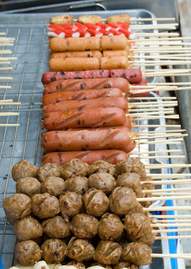 Kebab selection royalty free stock photo