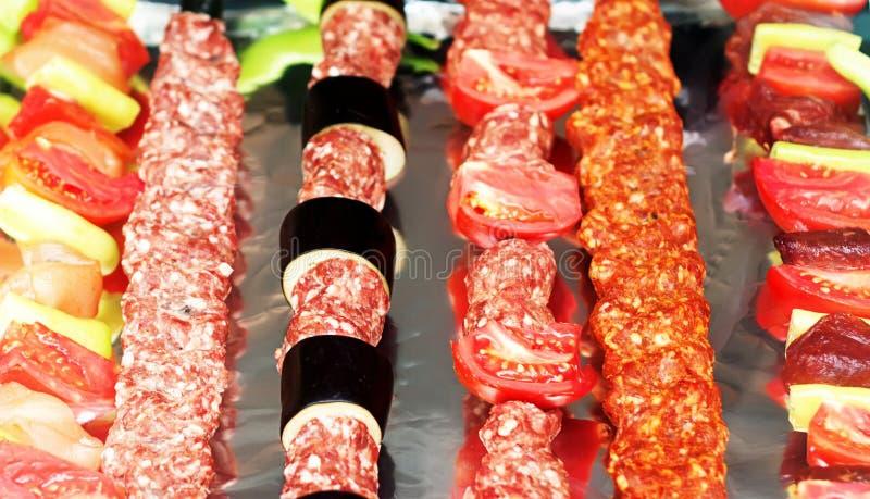 kebab shish στοκ εικόνες