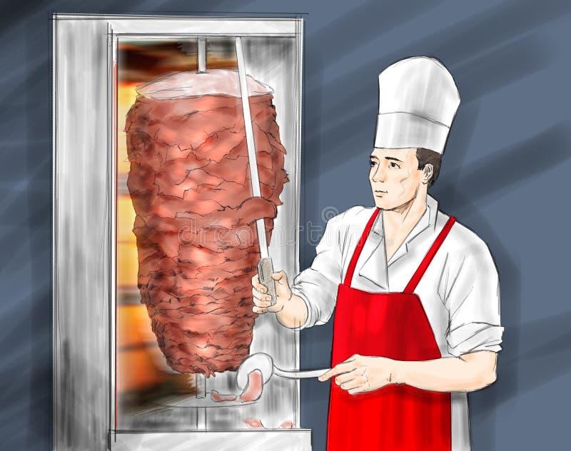 Kebab turc images stock