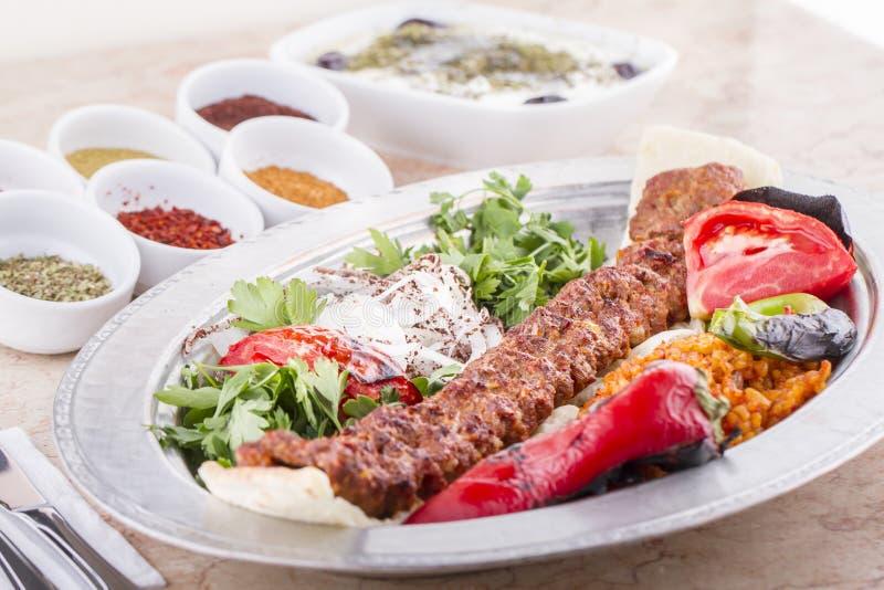 Kebab turco imagem de stock