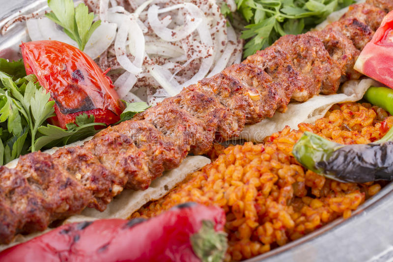 Kebab turco foto de stock royalty free