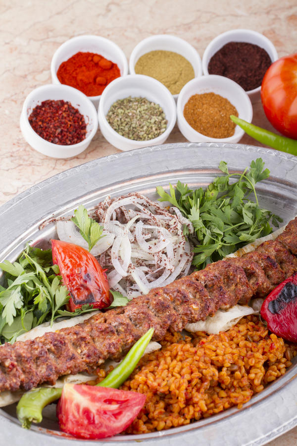 Kebab turco imagen de archivo
