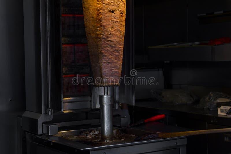 Kebab turco del doner fotografia stock