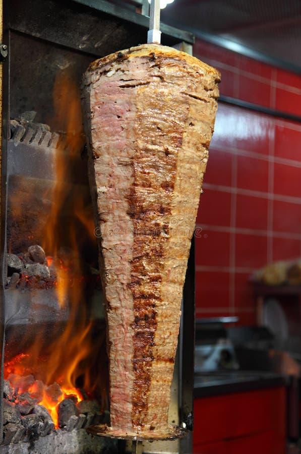 Kebab turco del doner immagine stock libera da diritti