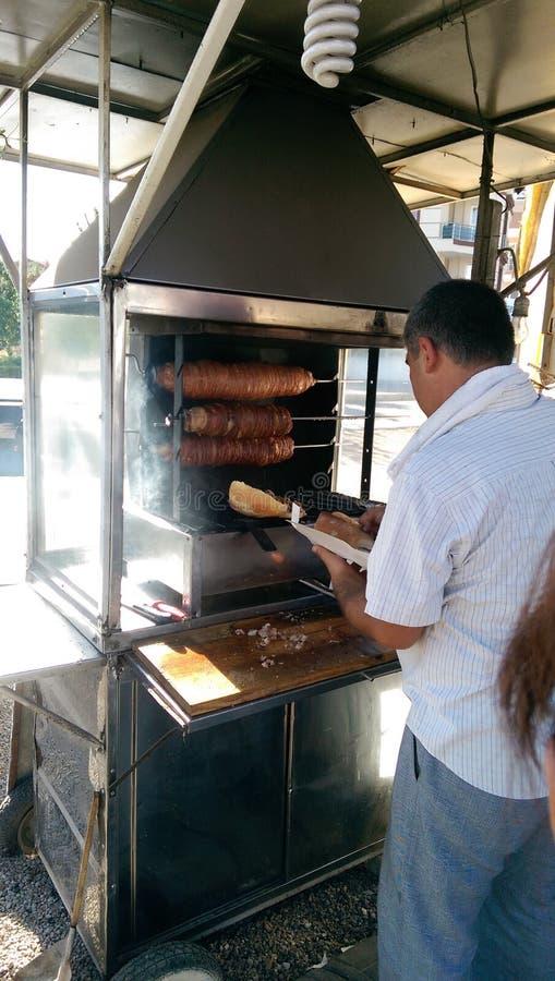 Kebab vicino ai menderes, Smirne degli intestini immagini stock libere da diritti