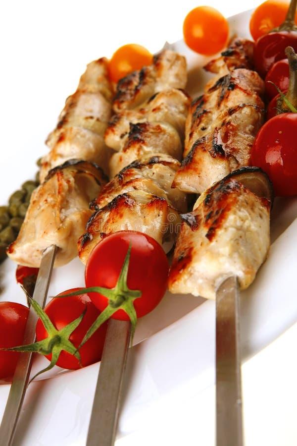kebab wieprzowina piec biel zdjęcia royalty free