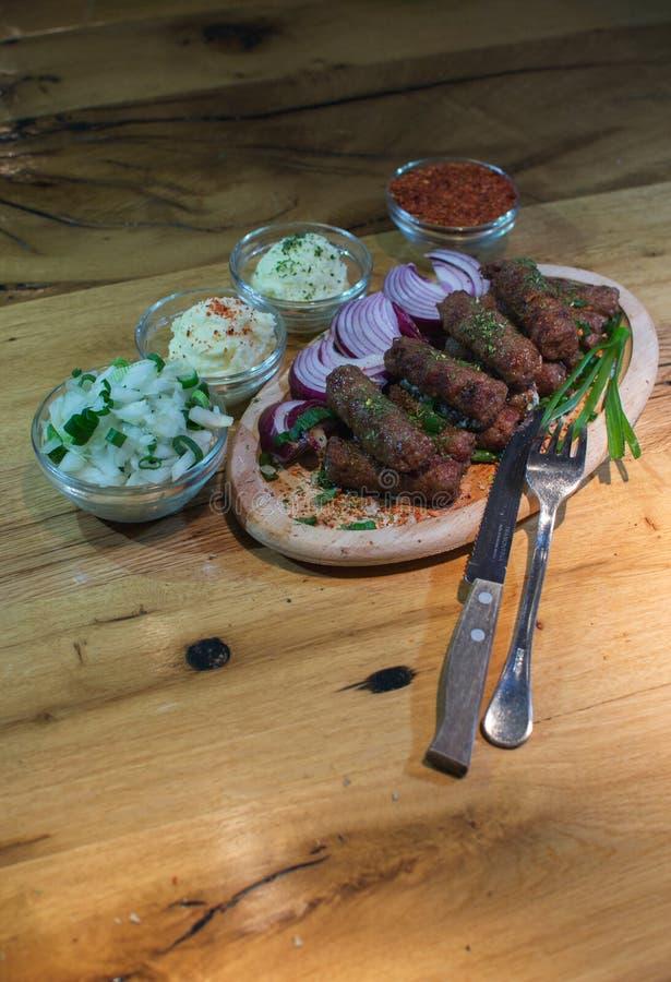 Kebabs -烤肉 库存图片