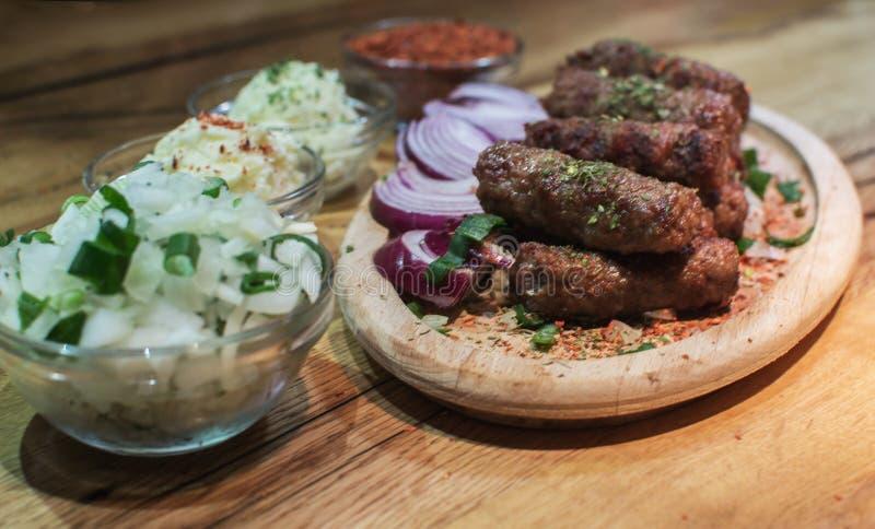 Kebabs -烤肉 免版税图库摄影