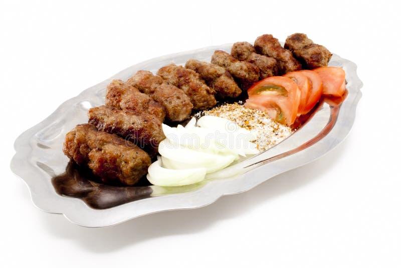 Kebabs immagini stock libere da diritti