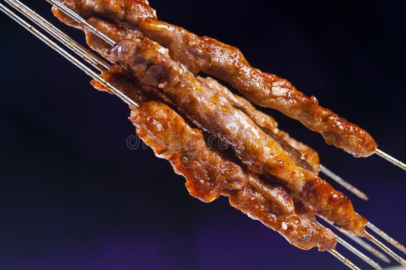 Kebabs fotografie stock libere da diritti
