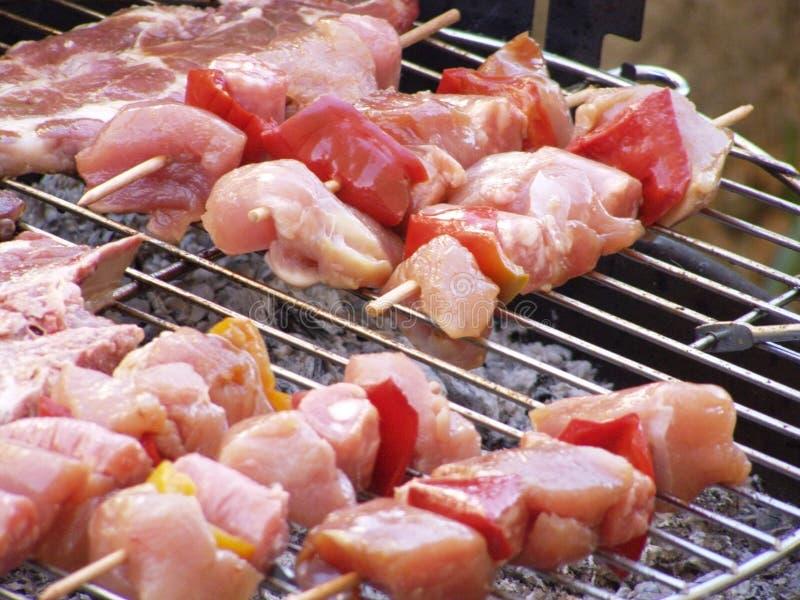 kebaby grillów sis zdjęcie stock