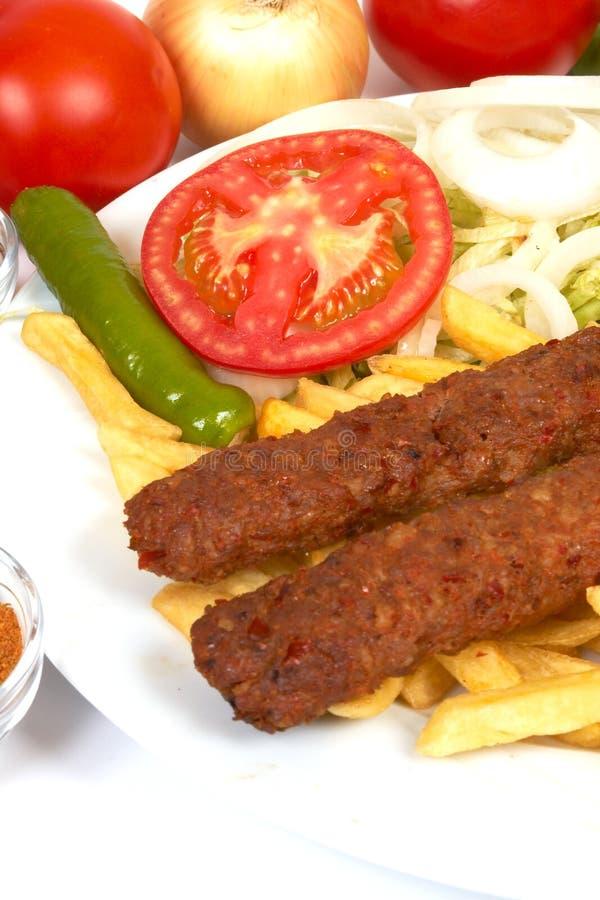 Kebap de Adana imagens de stock royalty free