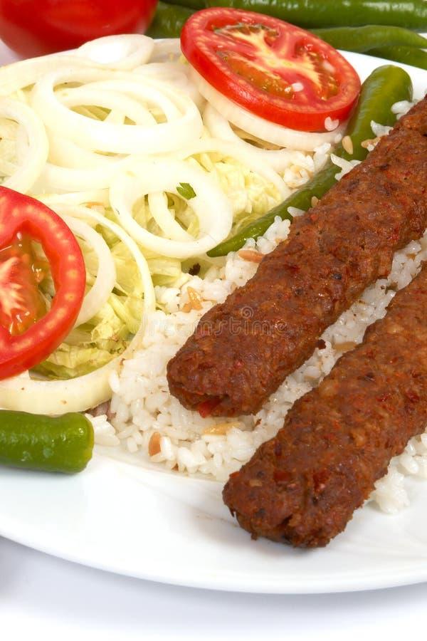 Kebap de Adana fotos de stock