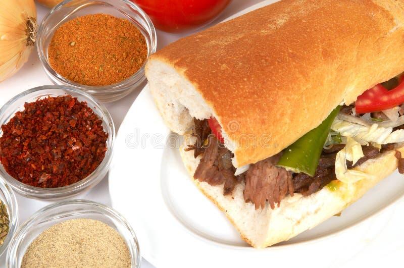 Download Kebap de Doner foto de archivo. Imagen de carne, cocinas - 1294772