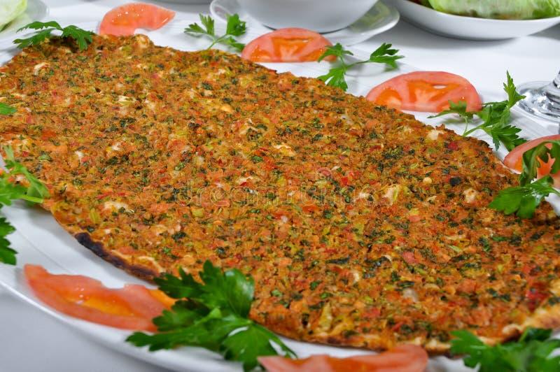 Kebap turco do lahmacun fotos de stock